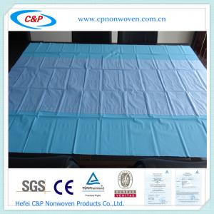 Quality Medical PP coated PE back table cover for sale