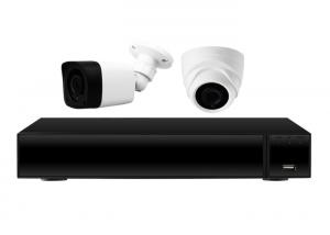 China XVR 2 Night Vision Cctv Kit With Hard Drive Coaxial System HDMI Output on sale