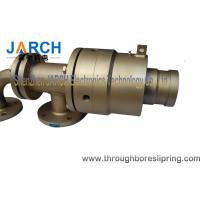 High Temperature Hydraulic Rotary Union 300psi hot oil quick machine coupling pipes