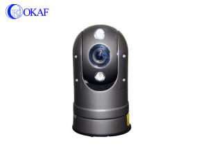 China Small Size Thermal PTZ Camera , Outdoor PTZ Thermal IP Camera Dome IR Uncooled on sale