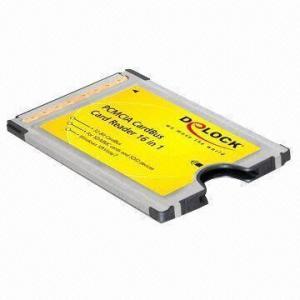 China Adapter CardBus to SDXC/SDHC/SD/SDIO High Speed with 32-Bit CardBus Type II on sale