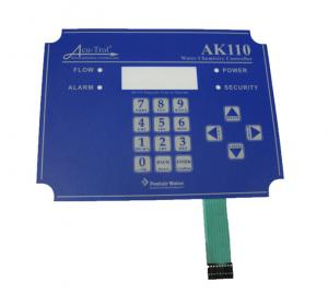 China UV Resistance PET / PC / Autotex Flexible Membrane Switch Keypad on sale