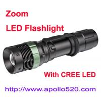 China Zoom LED Flashlight on sale