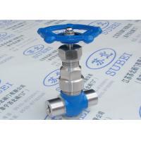 Socket welding wrought gate valve for heavy oils & light grease transfer PN16 Mpa PN80 Mpa DN10 - DN25