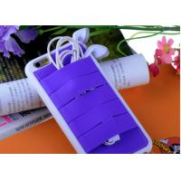 China Purple Silicon Holder iPhone 6 Back Cases, TPU Silicon case for iPhone 6 4.7 on sale