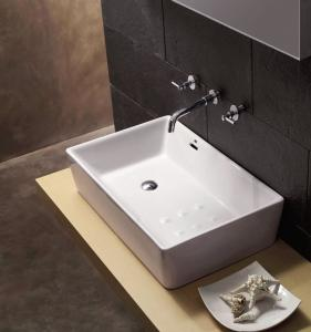 China Bathroom Ceramic Wash Basin for Cabinet on sale