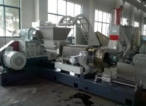 China internal and external cable material plastic compound extruder Cable material machine technology in China on sale