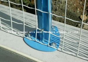 China Heavy Duty Welded Wire Mesh Panels , Metal Fencing Panels 100mm*100mm on sale