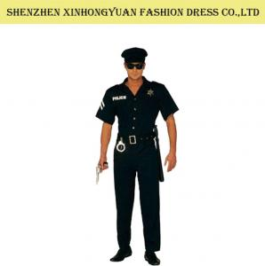 ... Quality Custom Police Man Halloween Costume Police Officer Uniform For Adults for sale  sc 1 st  Military Dress Uniforms - Everychina & Custom Police Man Halloween Costume Police Officer Uniform For ...