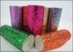 Diamond Decoration Wallpaper Chunky Glitter Fabric Wear Resisting