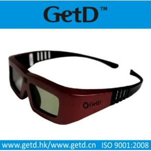 China To watch movies 3d active 3d glasses with CR2032 battery in shenzhen--GT100 on sale