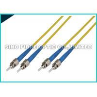 LC - LC Simplex Fiber Optic Patch Cables Single Mode 1.6mm LSZH Jacket Material