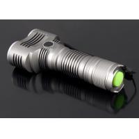 High Brightness 2 LED Aluminum LED Flashlight CREE T6 With SOS Function