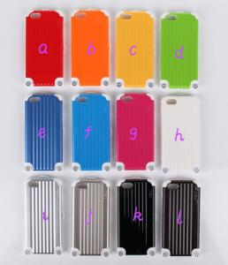 China 2014 HOT Miak 3D Luggage Carrier Iphone 5c PC Case Luggage Carrier Box Back Cover on sale
