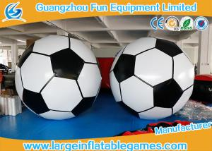 China 3m Diameter Giant Inflatbale Foot Ball Soccer Big Inflatable Soccer Games on sale