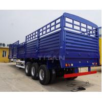 TITAN high side wall cargo open container semi trailer with 3 axles for sale