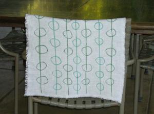 China lovely kitchen tea towel on sale