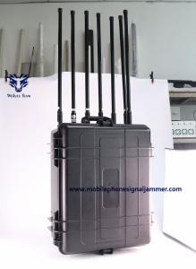 China Anti Uav Drone Signal Jammer Shooting Remote Control 2.5km Outdoor Installation on sale