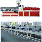 Electricity Twin Screw Extruder Granulation Pelletizing System PP PE Conveyor Belt Machine