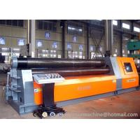 China Factory outlets hydraulic plate rolling machine PLC 4 rolls plate bending rolls on sale