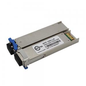 China Juniper Compatible 10G XFP bidi LC 20Km xfp transceiver modules with DDM for network switch on sale