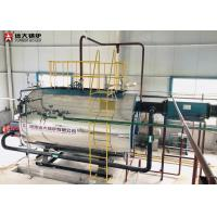 China Automatic Oil Fired Hot Water Boiler 92.4% -- 94.5% Boiler Thermal Efficiency on sale