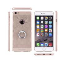 Heat Dissipation Phone Case With Finger Ring , Protective Iphone Cases Dirt Resistant