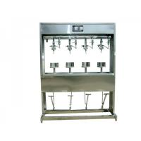 China Semi-Automatic Beer  Automatic Bottling Machine , 4 Heads Liquid Filling Equipment on sale