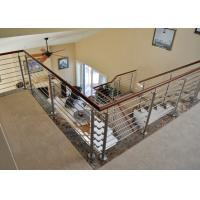 Indoor stainless steel rod railing stainless steel balustrade