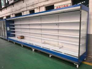 China Supermarket Refrigerator Multideck Open Display Fridge For Fruits And Vegetable on sale