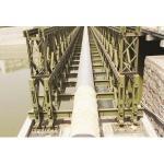 Soldadura feita sob encomenda, travando, ponte de Bailey estrutural de aço de rolamento, pontes pedestres