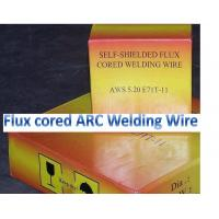 China self-shieding arc flux cored wire E81T-GS for mild steel and low alloy steel welding on sale