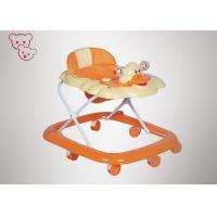 6 - 18 Months Foldable Baby Walker PP Plastic Cute Appreance Easy Folding