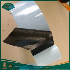 China Three Ply Polyethylene Pipe Coating Tape Black And Gray Adhesive on sale