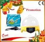China Hot Smallest CE approved automatic 7 eggs commercial quail egg incubator for sale wholesale
