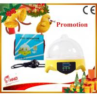 Hot Smallest CE approved automatic 7 eggs commercial quail egg incubator for sale