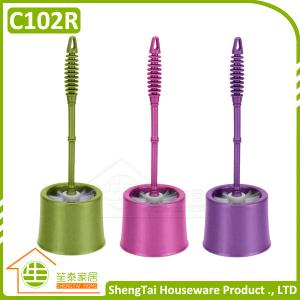China Eco-Friendly Handheld Toilet Bowl Cleaning Brush on sale