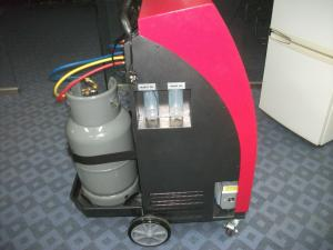 China Semi Automatic R134a Refrigerant AC Gas Recycling Machine , 220v 1200g/min on sale