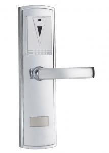 China Wireless Remote Control Electronic Door Lock DeHaZ5002-EL-NI 283 * 73.5mm on sale