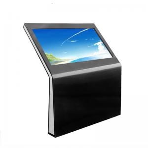 China 1080P 55 Inch Big Size WIFI Floor Stand Honrizontal Multi Touch Screen Information Kiosk All In One Computer on sale