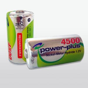 China 2000mah 1.2V aa nimh rechargeable batteries with low self discharge on sale