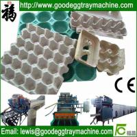 Egg packaging cartons tray machine