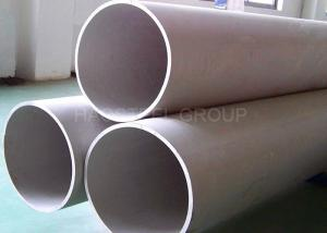 China ASTM JIS Stainless Steel Welded Pipe Large Diameter For Industrial Fluid Conveying on sale
