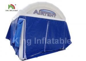 China UV Proof Blue Advertising Inflatable Event Tent Commercial Grade Customized Size on sale