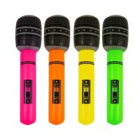 Inflatable microphone kids toy,advertising promotional gifts