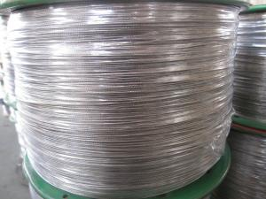 China Galvanized Steel Crane wire rope With 6 x 19 6mm DIN / GB Crane on sale