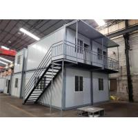 Environmental Friendly Prefabricated Shipping Container House For Labor Camp / Office / Workers Accommodation