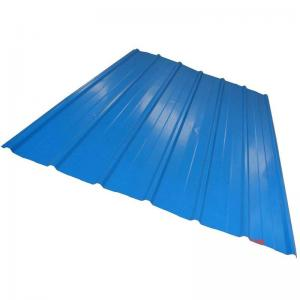 China CGCC, DX51D Zinc Coating white, red, blue PRE PAINTED Corrugated steel Roof Sheets / Sheet on sale