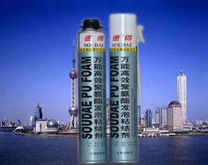 China Gun Type Fire Proof PU Foam Spray on sale