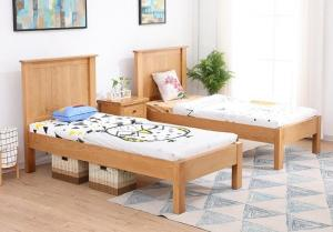 China Comfortable Childrens Solid Wood Bedroom Furniture Sets Single Size Highly Endurable on sale